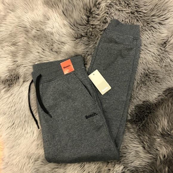 Bench Jogger Pants: Grey (PM594)